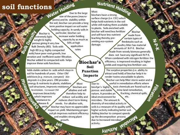 BioChar Soil Benefits
