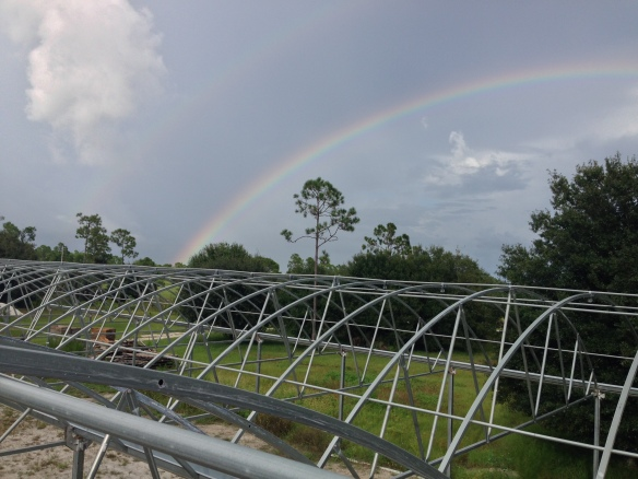 GreenView Aquaponics Double Rainbow